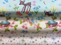 Lewis and Irene 'So Darling' Collection 100% Cotton Fat Quarter,Half Metre an...