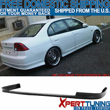 2001-2003 Honda Civic 4Dr Sedan Polypropylene Rear Bumper Lip Spoiler
