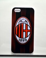 AC Milan FC Iphone 5 case+ 1 FREE SCREEN PROTECTOR (BACK AND FRONT)  Soccer Foot