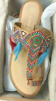 Chinese Laundry Paradiso Tan Leather Sandals Women's Size 8 US / EUR 38-39 - NIB