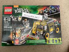 Lego 79115 Tmnt Ninja Turtles Turtle Van Takedown 368pcs New Retired Set