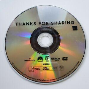 Thanks for Sharing | DVD Movie | Mark Ruffalo, Gwyneth Paltrow| Romance/Drama