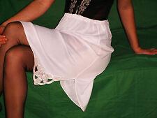 OMAS ELEGANTER  40/50er Perlon/Nylon HALB-Unterkleid-Unterrock  Gr.44 *NEU* (518