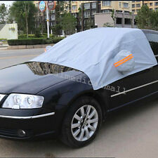 Portable Front Windshield Window Snow Ice Frost & Sun Shade Protector Cover Car