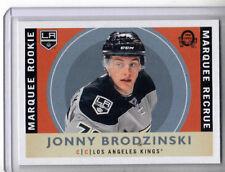 2017-18 OPC Hockey RETRO BLANK BACK  JONNY BRODZINSKI  LA Kings (3 per case)