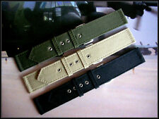 16mm Olive Drab Canvas Wwii 2pc Military Army watch band nato Iw Suisse 18 20mm