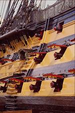615062 HMS Victory Starboard Gun Ports A4 Photo Print