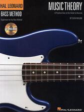 Hal Leonard Bass Method Music Theory Learn to Play Guitar Tab Music Book & CD