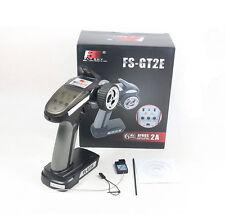 FS-GT2E 2CH 2.4GHz Remote Control Transmitter Radio A3 Receiver RC Cars Boat