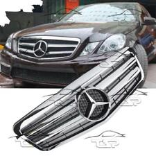 FRONT FULL CHROME GRILL FOR MERCEDES W212 09-13 AMG LOOK 212051 E-CLASS
