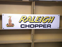 Raleigh Chopper Cycle BANNER retro 70s look bicycle advertising Display sign
