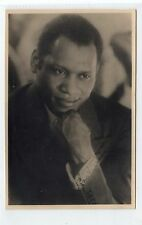 More details for signed plain back picture postcard of paul robeson (c24428)