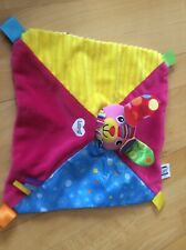 Lamaze colourful bunny rabbit comforter / Blankie soft toy