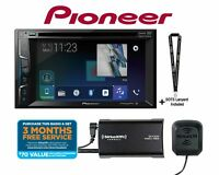 "Pioneer AVH-500EX 6.2"" DVD Receiver w/ SiriusXM SXV300KV1 Tuner & Antenna"