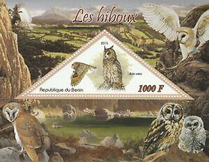 Owls Ivory Coast 2012 Mint 1781