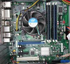 DQ67SW Intel Motherboard Combo w/ i5-2400 3.1 GHz 16GB RAM Fan Latest BIOS