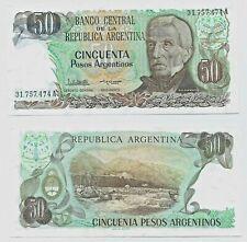ARGENTINA P314***50 PESOS ARGENTINOS***ND 1983-1985***UNC GEM***USA SELLER