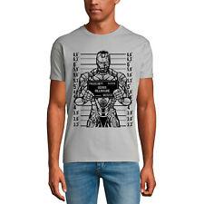 ULTRABASIC Homme T-shirt Genius Billionaire Mugshot - Milliardaire de génie