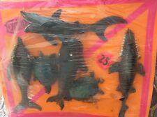 Vintage Rubber Oily Jiggler Lot Hong Kong Vending Sharks, Whales, Turtles