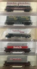 N Scale Atlas TOFC Lot Rock ATSF Canadian Southern Pacific Flat Car Trailers