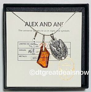 NEW Alex and Ani Guardian of Love Necklace  Amber Limited Edition ONLY 100 Made