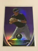 2013 Bowman Platinum Chrome Prospects Baseball - Trevor Story RC - Rockies