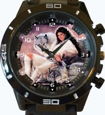 White Wolves And The Lady New Wrist Watch FAST UK SELLER