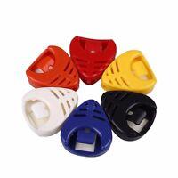Plastic Guitar Picks Holder *Different Colours* Plectrum Cases Box Acoustic Bass