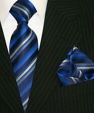 Krawatte Krawatten Set Schlips Einstecktuch Binder de Luxe Corbata Crawatta 5002
