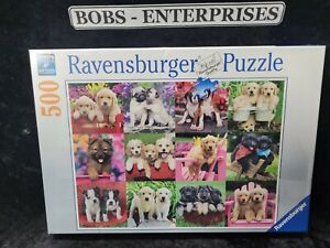 Ravensburger Puppy Pals 500 Piece Jigsaw Puzzle Factory Sealed p-128