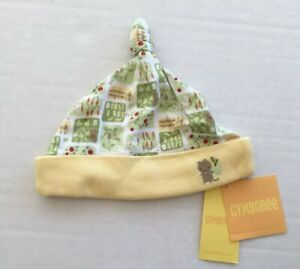 NWT Gymboree How Does Your Garden Grow 6-12 Months Yellow Beanie Hat with Gopher