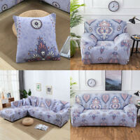 Stretch Fabic Slipcover Sofa Covers for 1 2 3 4 Seater L shape Sectional Couch