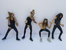 Metallica Harvester Of Sorrow McFarlane 2001 Action Figures Set of 4 loose