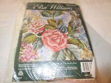 NIP Elsa Williams ENGLISH CHINTZ PILLOW Wool Needlepoint Kit 06358 Floral 12 x12