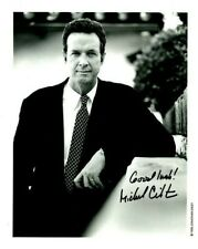 Tragic Sci-Fi & Horror Author Michael Crichton Rare Signed Photo- Jurassic Park