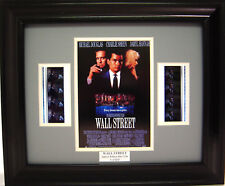 WALL STREET FRAMED FILM CELL MICHAEL DOUGLAS