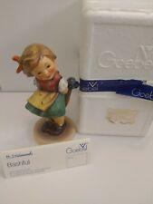 "Vintage Goebel Hummel 4.75� Tall Figurine, ""Bashful� #377 W Germany"