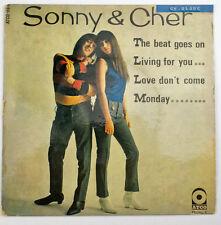 EP 45T Sonny & Cher the beat goes on ATCO 118 M  bon état