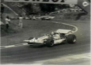 MARCH 701 #27 Ronnie Peterson Brands Hatch British Grand Prix 1970 Photograph