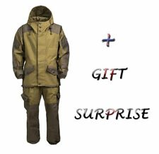 Winter Suit Gorka 3 Tent 100% Cotton Fleece, for Army Airsoft Hunting & Fishing