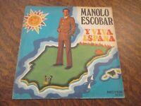 45 tours MANOLO ESCOBAR y viva espana