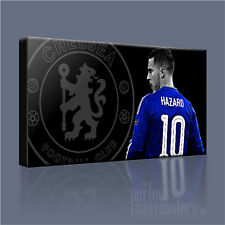 EDEN HAZARD CHELSEA MIDFIELD MAESTRO ICONIC CANVAS ART PRINT PICTURE ArtWilliams