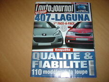 AJ N°579 Laguna 2.0 16V IDE.Volvo V70 D5 Summum.C3/206