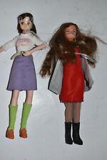 Lot of 2 Takara Dolls (I Think) Used Teenagers Girls 442