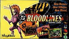 """1993 SKYBOX/DC COMICS """"BLOODLINES"""" FACTORY SEALED TRADING CARD 36 PACK BOX NM/MT"""