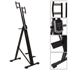 Foldable Vertical Climber Machine Exercise Stepper Cardio Workout Fitness Gym