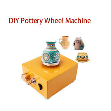 220v DIY Turntable Pottery Wheel Ceramic Machine With Power Adapter 300r/min JH