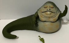 "Star Wars Hasbro JABBA THE HUT Action Figure 1998 Drooling Without Hookah 8"" VTG"