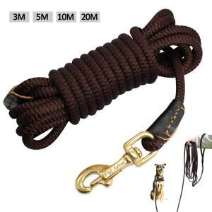 Durable Training Dog Leads Long Pet Tracking Leash Heavy Duty Rope 3M 5M 10M 20M