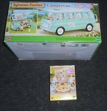 SYLVANIAN FAMILIES  EX-DISPLAY CAMPERVAN PLUS FREE NURSERY PARTY SET.